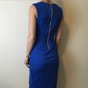 LOVELY~Rainbow Back-Zipper Sheath Dress~4?